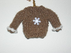 Sweater ornament
