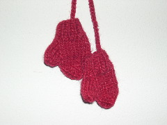mittens ornament