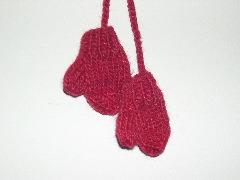 mittens ornament