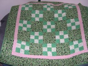 shamrock quilt - finished