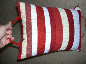 Picnic Pillow with Handles