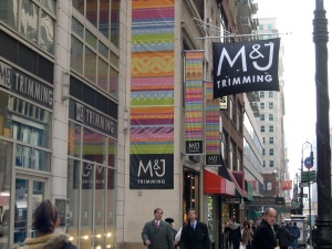 M&J Trimmings in Manhattan