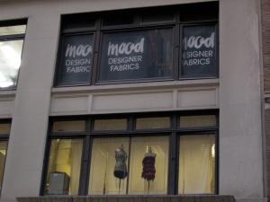 Mood Fabrics storefront