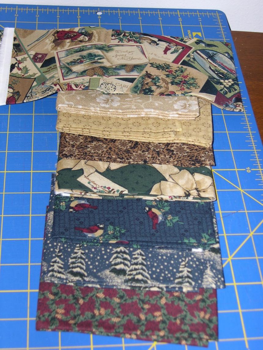 Giveaway fabric set#1