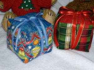 fabric presents