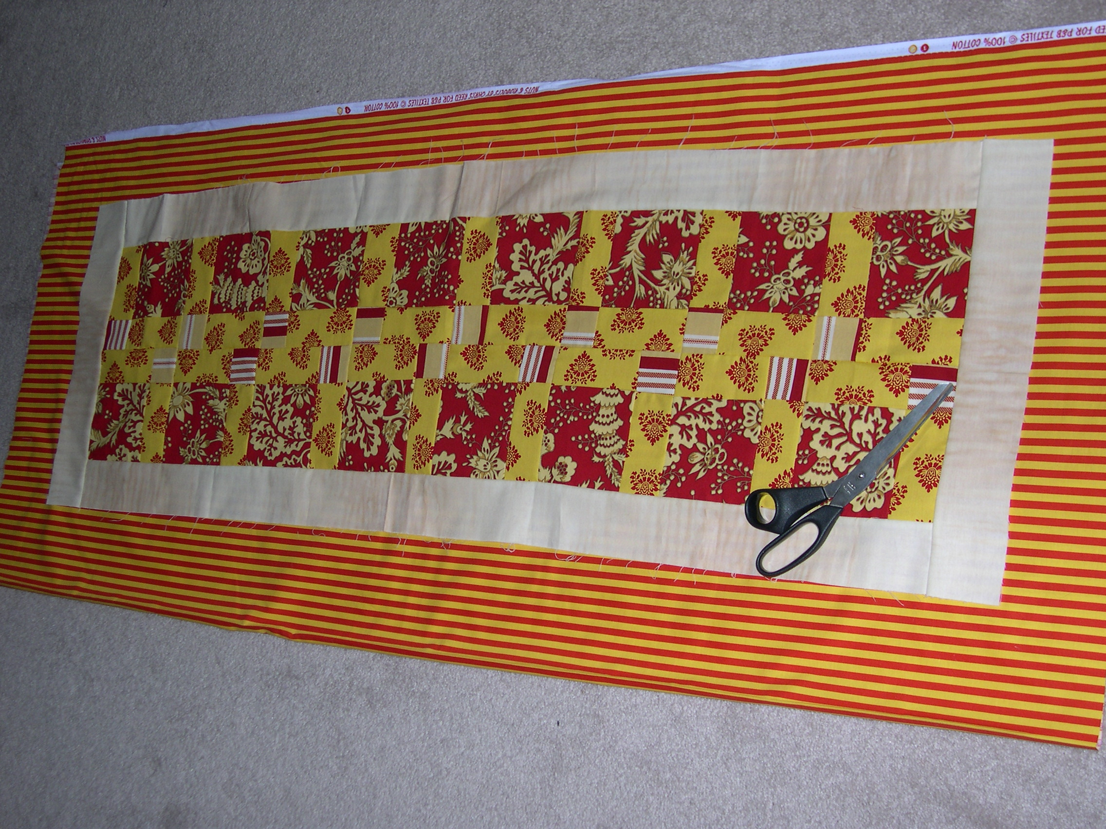 Table Runner Sewing Pattern | Patterns Gallery