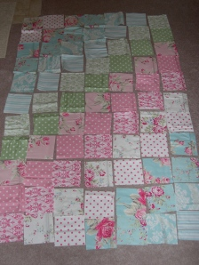 girly quilt layout