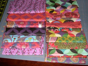 Bohemian fat quarter stash
