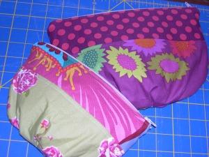 Garden Party makeup bags