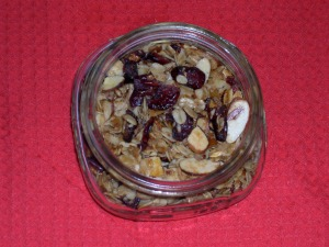jar of granola