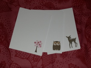 littlebrownpen notecards