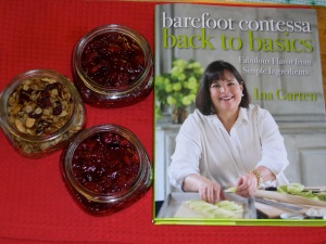 granola and jam from Ina's new book