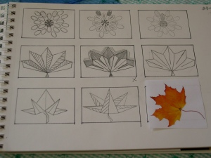 leaf thumbnails