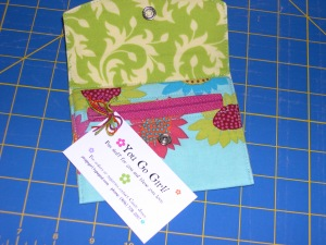 zippy wallet from Cassie