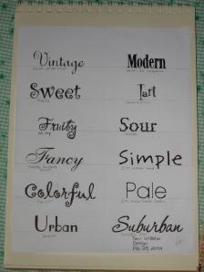 word pairs study