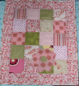 quilted doll quilt