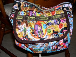 my new LeSports Sac bag - Pirates!