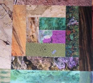 mixture of textures