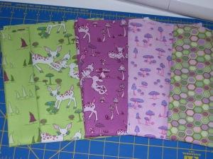 Woodland Wonderland fabrics