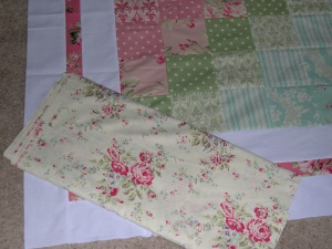 Backing for Ava Rose Quilt