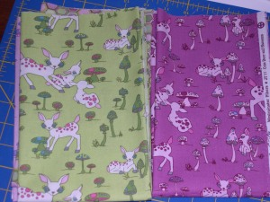 crazy creatures from Woodland Wonderland fabrics