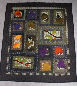 Bittersweet Autumn Wallhanging