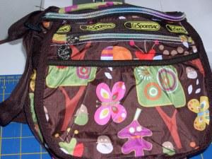 my new autumn-themed Le Sports Sac bag