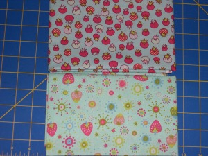 tomato and strawberry fabrics