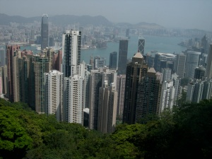 Views of Hong Kong from The Peak