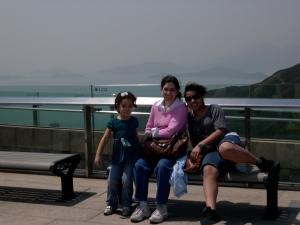 Amanda, MaryKay and Abby at The Peak