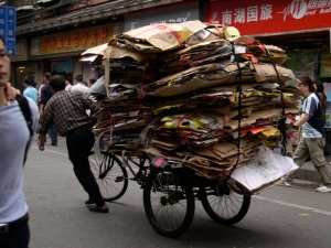 typical bike load
