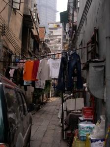 typical laundry scene