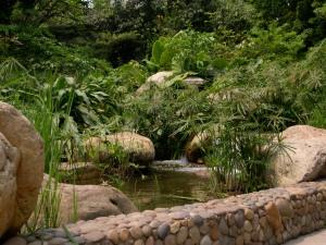 lush botanical gardens