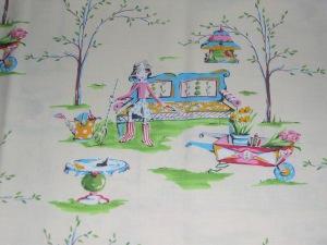 The Garden fabric