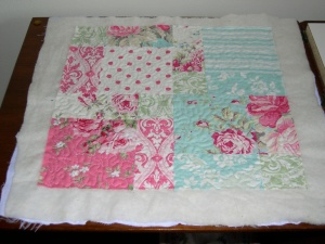 quilted charm mini