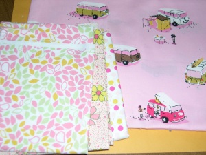 fabrics matching the VW vans