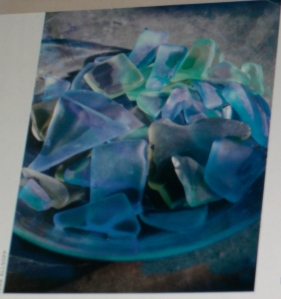 photo of sea glass in Coastal Living