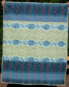 zig zagged quilt backing
