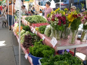 freshness at the market