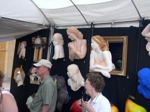 funky art at the art fair
