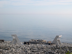 benches for contemplation