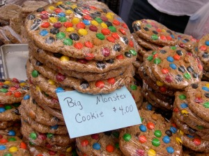 big monster cookies from the Amish