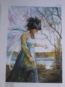 Spring Faery drawing