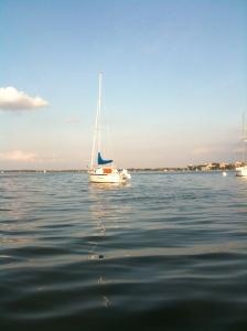 Dan's sailboat Catrina
