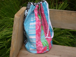 Stuff Sack in Sis Boom fabrics