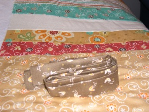 binding for fall table runner