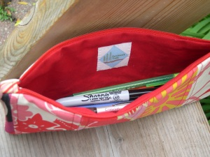 Inside of Pencil Case