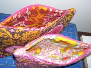 linings of cosmetic bags
