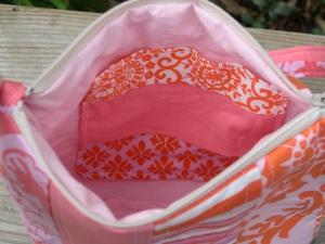 Pink Techie Bag-Patchwork Pocket