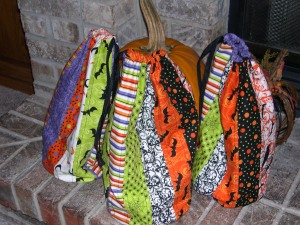 Halloween Treat Sack Trio